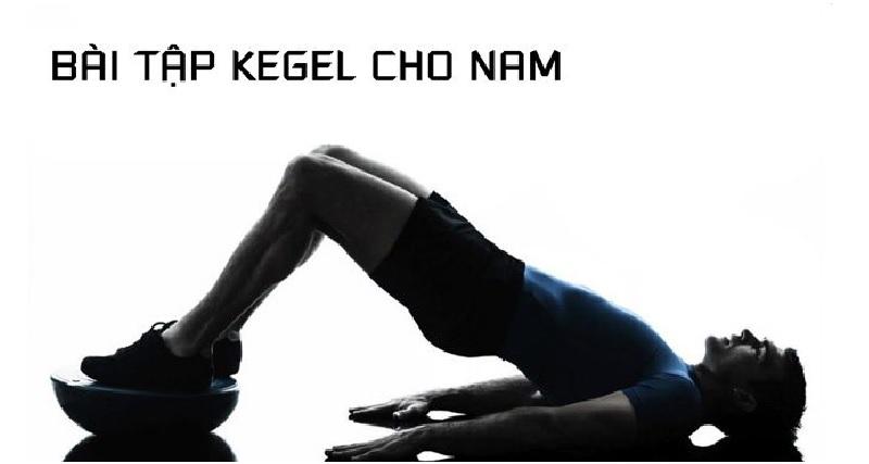 Kegel kết hợp với chiếu sóng cao tần giúp nam giới trì hoãn việc xuất tinh sớm