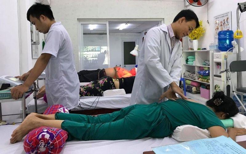 Áp dụng vật lý trị liệu trong chữa trị vôi hóa cột sống