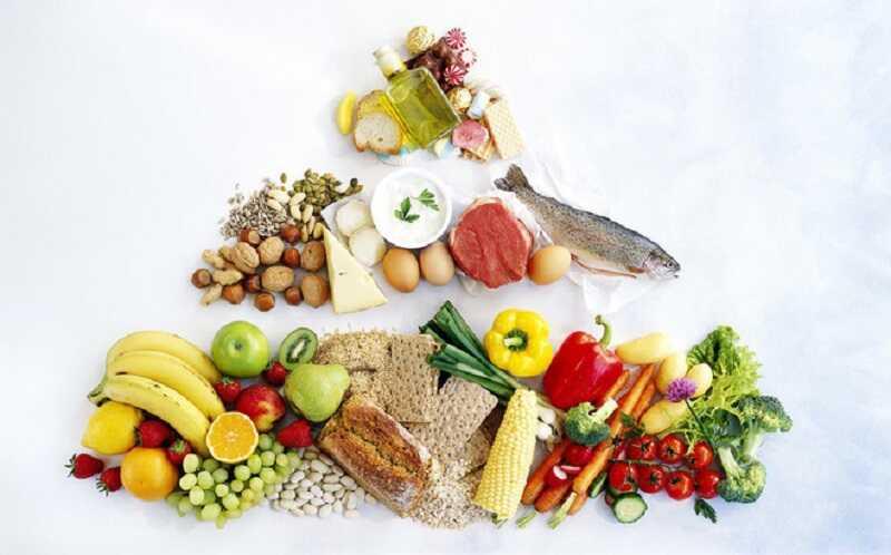 Chế độ ăn cân bằng và đầy đủ chất dinh dưỡng