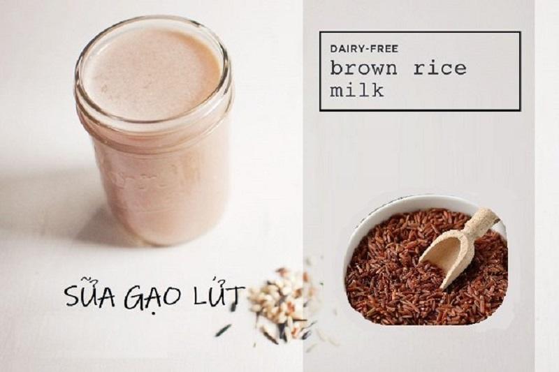 Chữa đau dạ dày bằng sữa gạo lứt