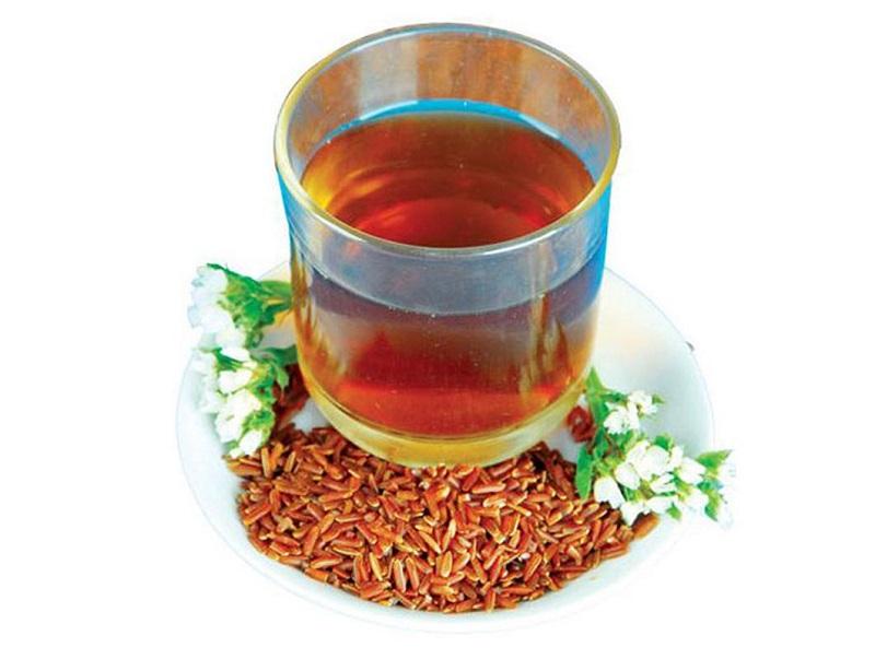 Trà gạo lứt giúp làm giảm triệu chứng đau bao tử