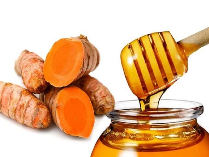 Nghệ tươi kết hợp mật ong để chữa bệnh đau bao tử