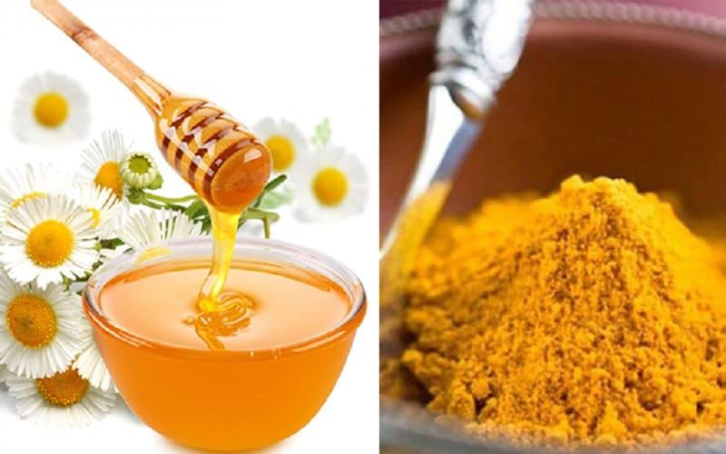 Chữa đau bao tử bằng bột nghệ trộn mật ong