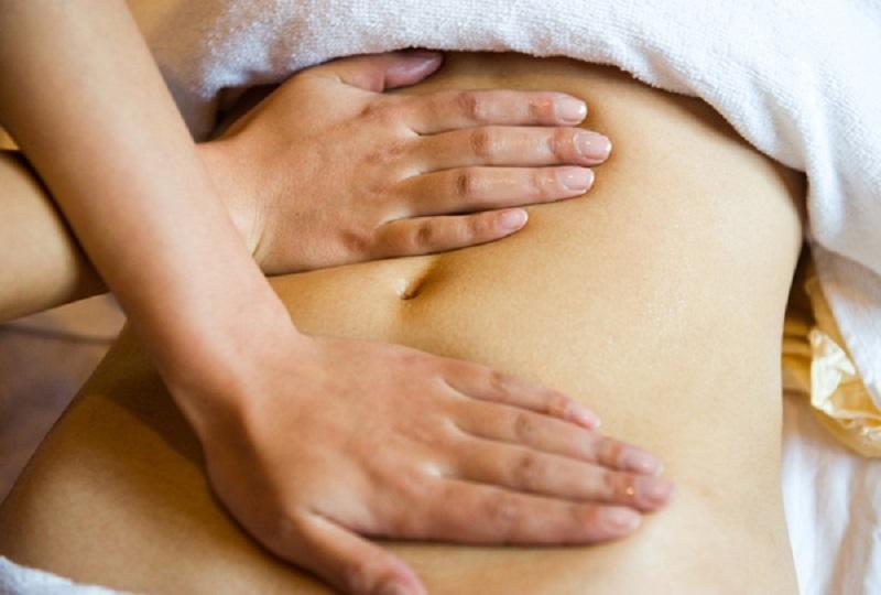 Xoa bóp trị viêm loét dạ dày tại nhà