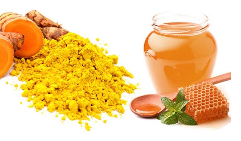 Bài thuốc chữa đau dạ dày tức thời từ nghệ và mật ong