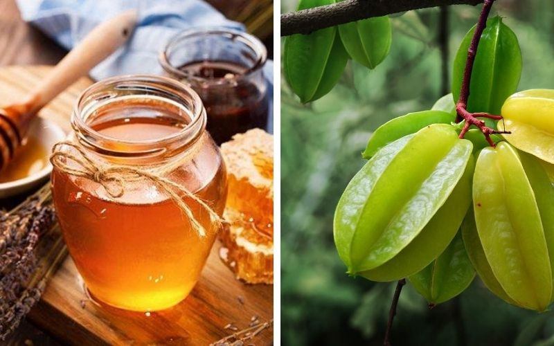 Khế chua ngâm mật ong là công thức dễ thực hiện, dễ uống
