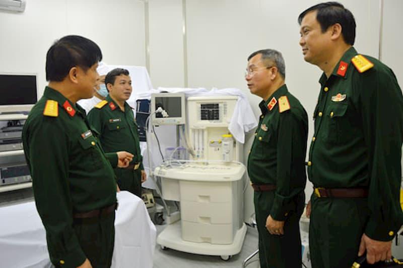 Bệnh viện Quân y 110 có nhiều bác sĩ ưu tú