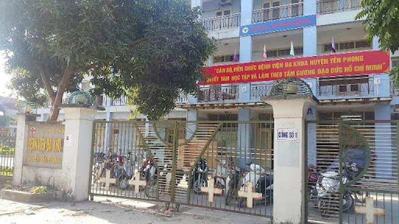 Bệnh viện Đa khoa Yên Phong chữa thoát vị hiệu quả