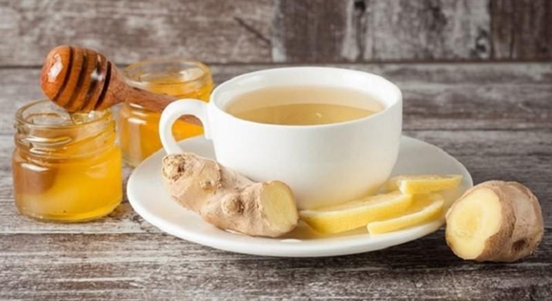 Trà gừng mật ong hỗ trợ điều trị yếu sinh lý hiệu quả