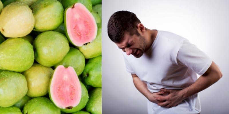 Người bị đau dạ dày không nên ăn quá nhiều ổi