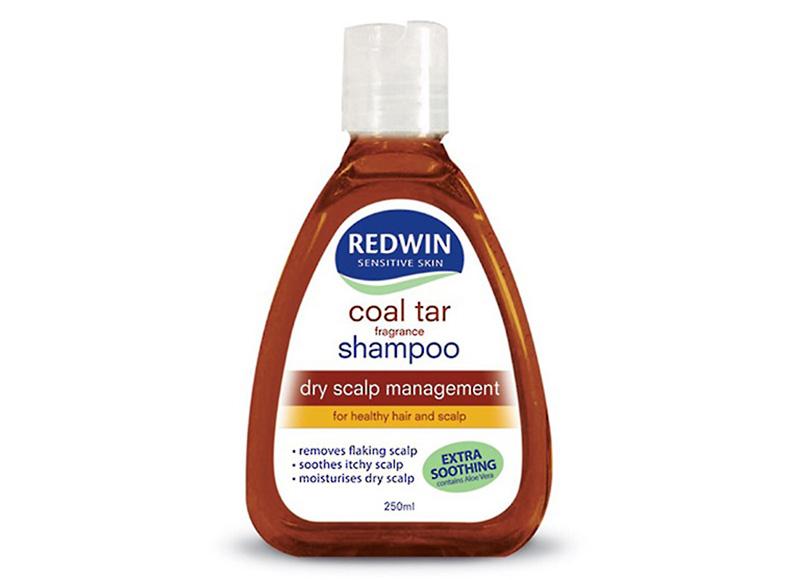 Dầu gội Redwin coal tar được dùng để ức chế sự phát triển của nấm, giảm tình trạng viêm da.