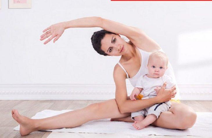Đau khớp gối sau sinh có thể thuyên giảm nếu mẹ có chế độ dinh dưỡng và luyện tập phù hợp