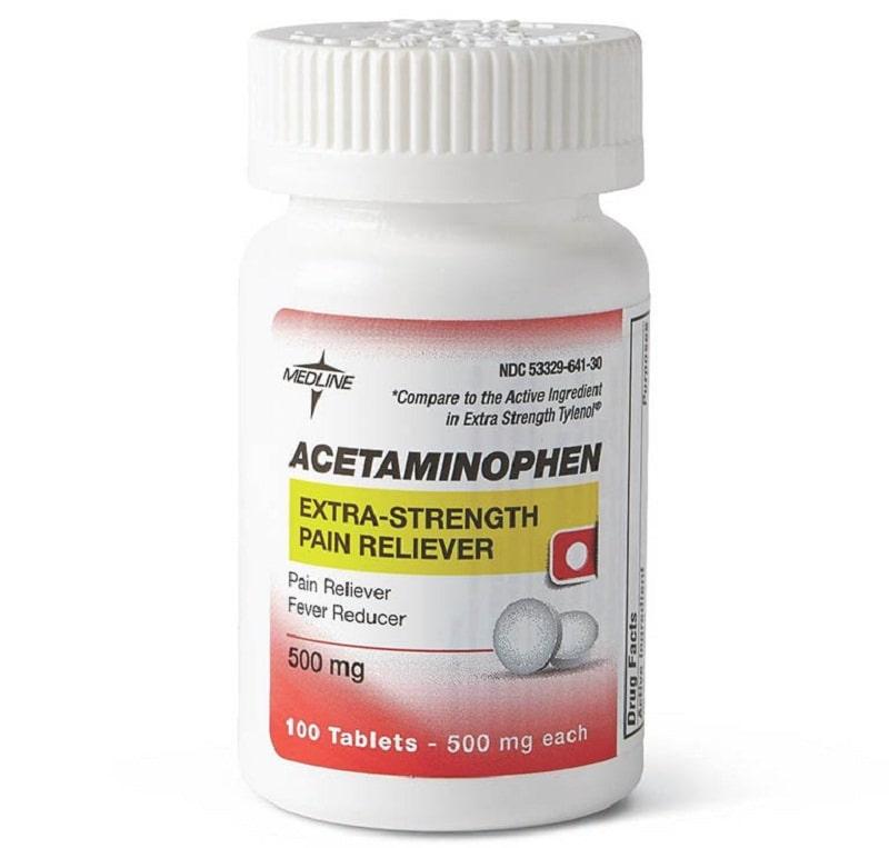 Thuốc Acetaminophen trị đau khớp cổ tay