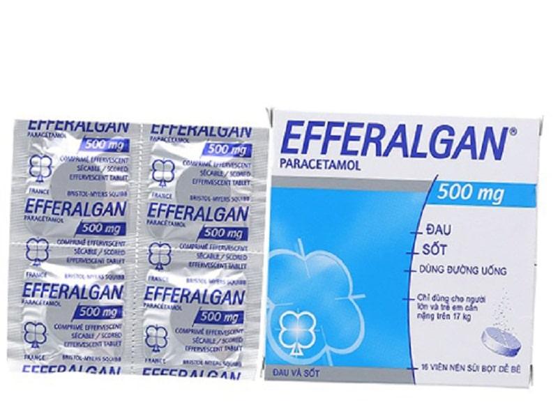 Thuốc giảm đau loại nhẹ Efferalgan