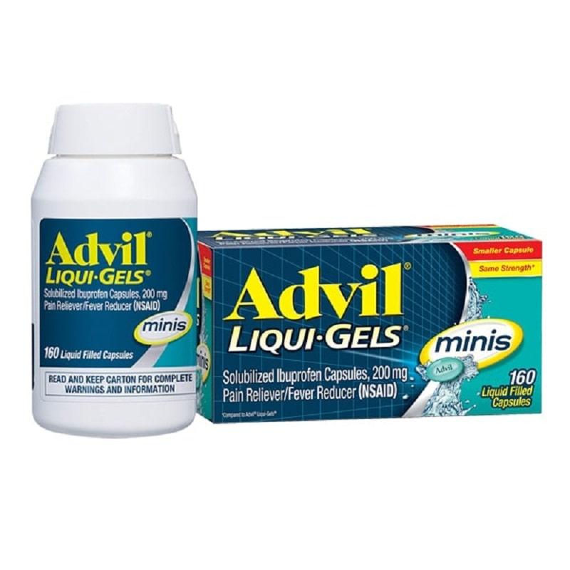 Đau khớp vai nên uống thuốc gì? - Thuốc kháng viêm Advil