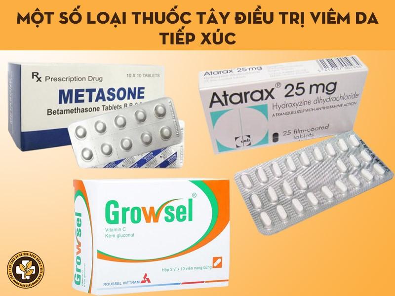 Một số loại thuốc bôi ngoài da điều trị viêm da tiếp xúc