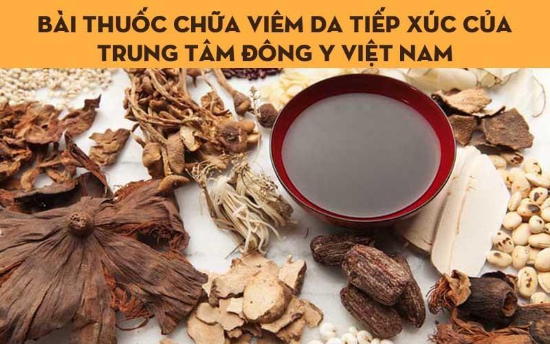 Sử dụng bài thuốc Đông y chữa viêm da tiếp xúc