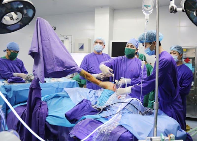 Phẫu thuật chữa viêm khớp vai