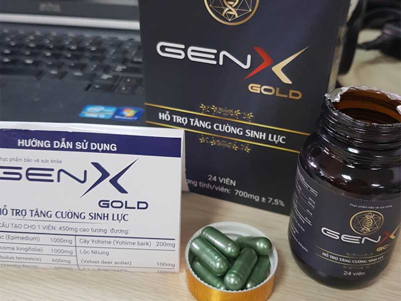 Nam giới sử dụng Gen X cần chú ý cần đảm bảo đúng liều lượng và đúng cách