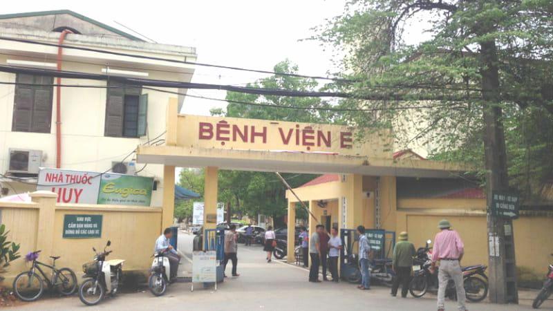 Bệnh viện E là địa chỉ khám cơ xương khớp uy tín ở Hà Nội