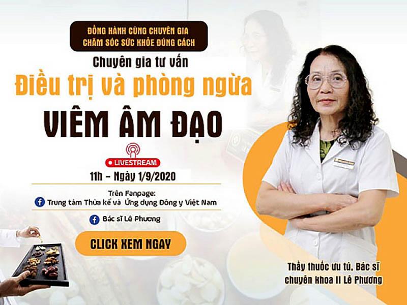 Tư vấn trực tuyến: Điều trị và phòng ngừa viêm âm đạo
