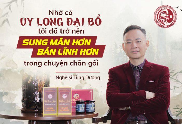 Nghệ sĩ Tùng Dương cùng hàng ngàn nam giới đã tìm lại được bản lĩnh của mình