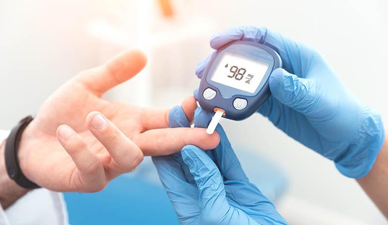 Tăng đường huyết sẽ gây ra các rối loạn chuyển hóa, gây ra nhiều triệu chứng ngoài da