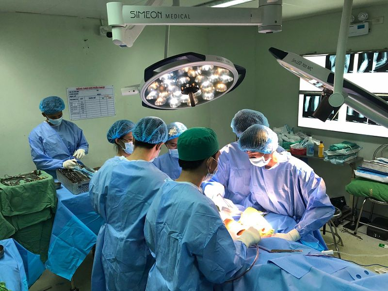 Phẫu thuật là phương pháp điều trị phổ biến cho bệnh nhân ung thư dạ dày