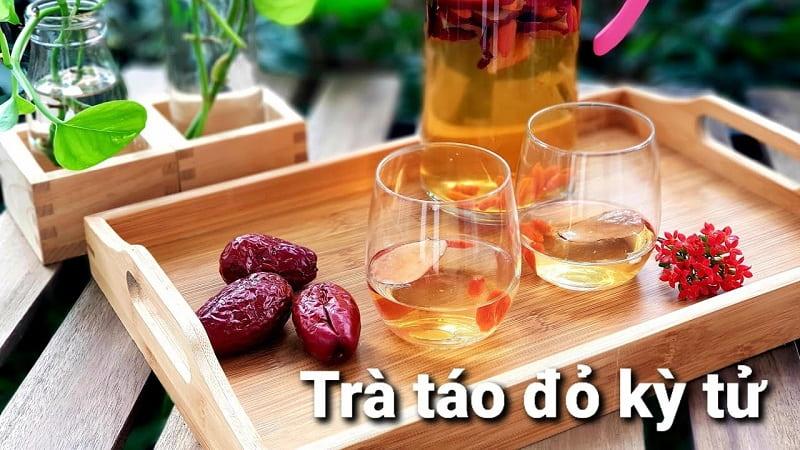 Uống trà táo đỏ hàng ngày giúp kiểm soát cân nặng