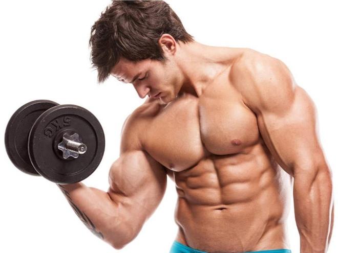 Tập tạ giúp cải thiện sinh lý nam giới rất tốt