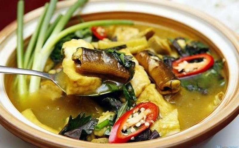 Lươn nấu đảng sâm là thực phẩm tốt cho dạ dày