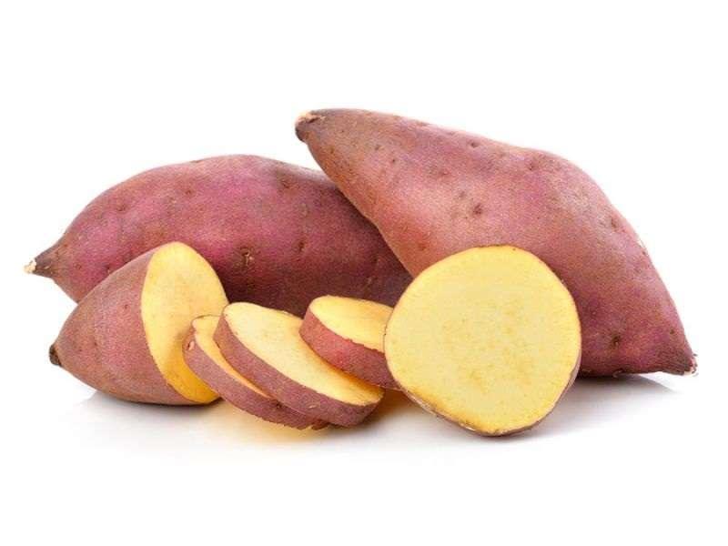 Thực phẩm tốt cho dạ dày - khoai lang giúp kích thích tiêu hóa, giảm căng thẳng thần kinh