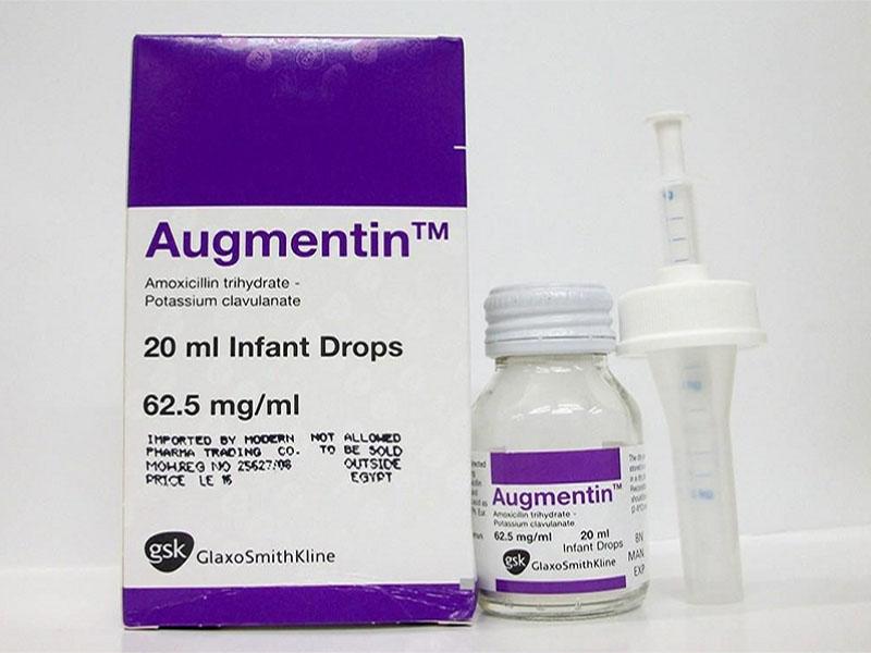 Augmentin được sử dụng an toàn cho cả trẻ em và người lớn bị viêm họng