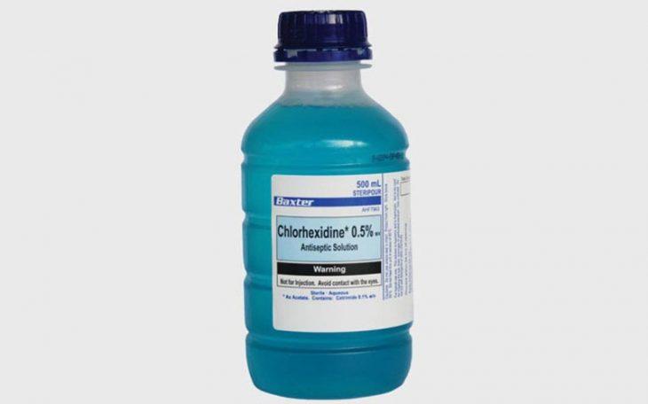 Thuốc bôi trị viêm da mủ Chlorhexidine