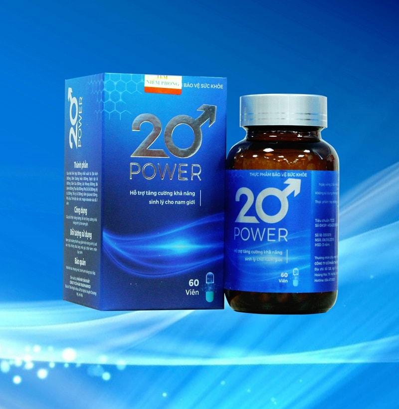Thuốc chữa bệnh di tinh 20 power