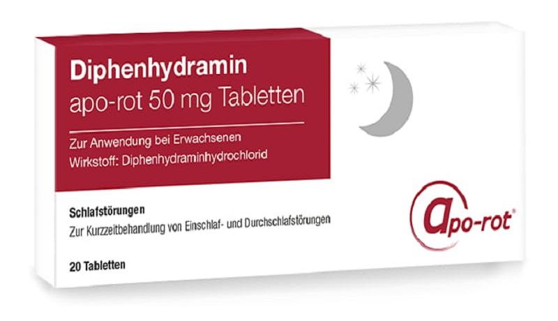 Diphenhydramin - Thuốc chống nôn cho người bị đau dạ dày