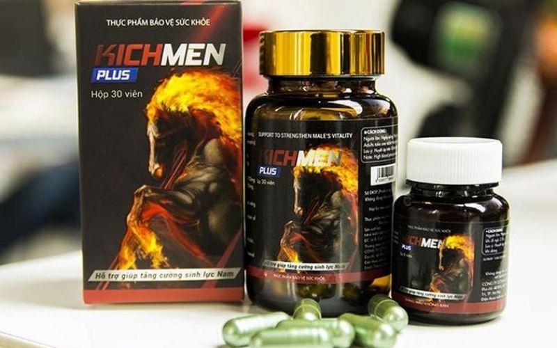 Kichmen Plus - thực phẩm chức năng chữa bệnh mộng tinh