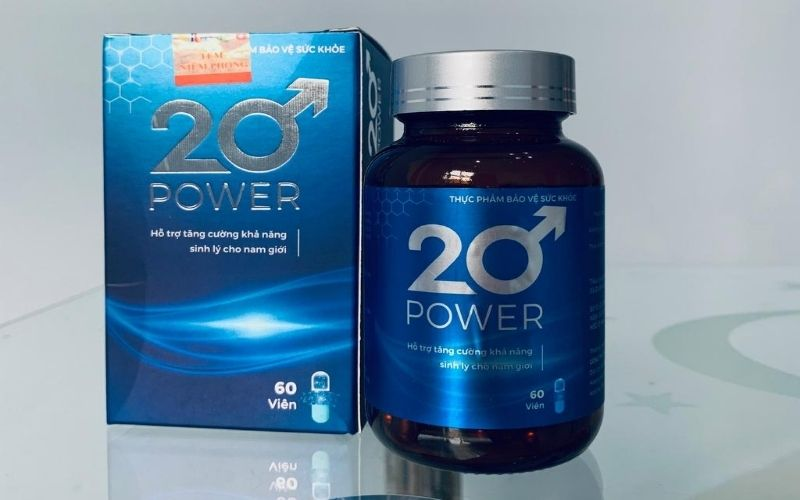 20 Power - sản phẩm chức năng trị di tinh