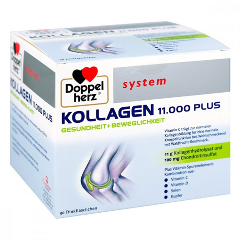 Collagen thuỷ phân Doppelherz Kollagen 11.000 Plus