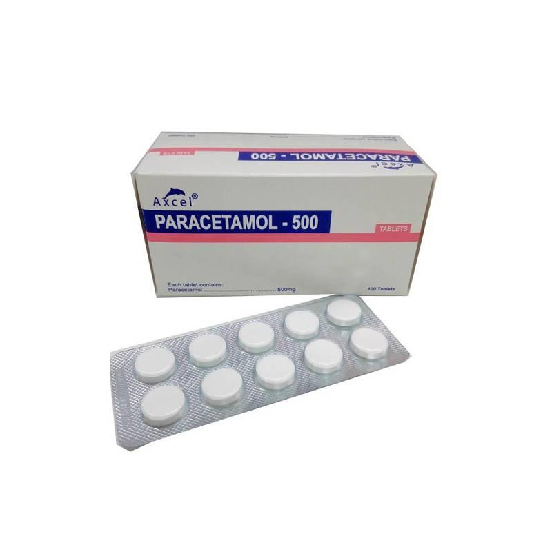 Paracetamol có tác dụng giảm đau, hạ sốt