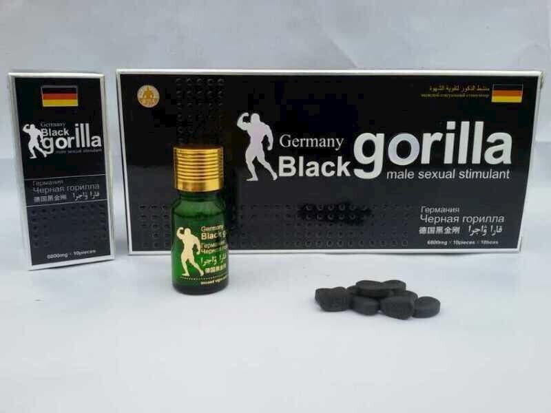 Black gorilla là thuốc cường dương của Đức được nhiều người bệnh tin dùng