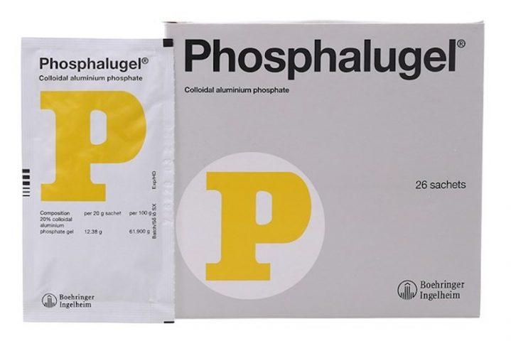 Thuốc đau bao tử Phosphalugel (chữ P)