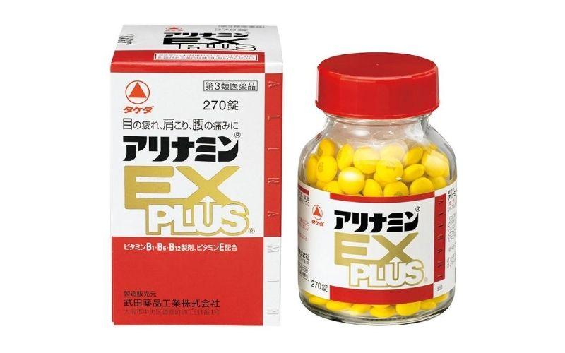 Thuốc trị đau mỏi vai gáy Arinamin EX Plus
