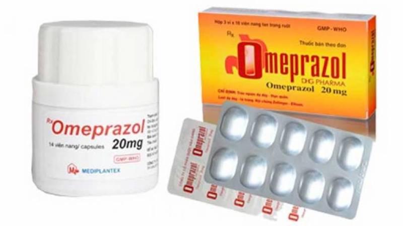 Thuốc ức chế proton Omeprazol
