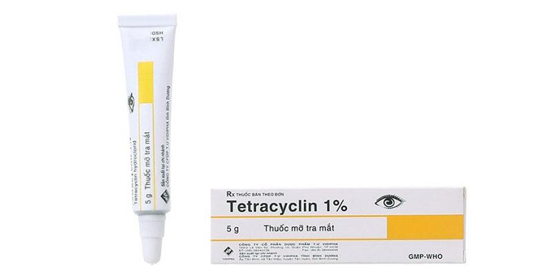 Thuốc điều trị viêm da tiếp xúc Tetracyclin