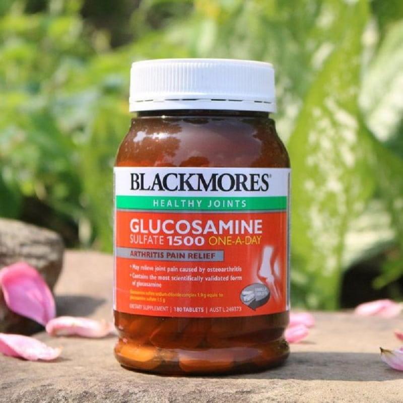 Glucosamine giúp phục hồi xương khớp