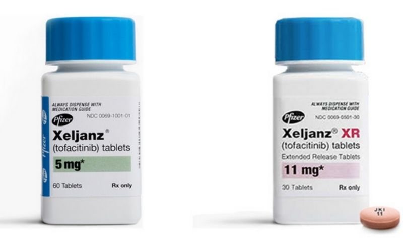 Thuốc ức chế JAK - Tofacitinib