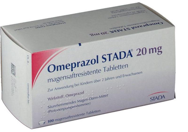 Thuốc ức chế tiết axit dạ dày Omeprazol