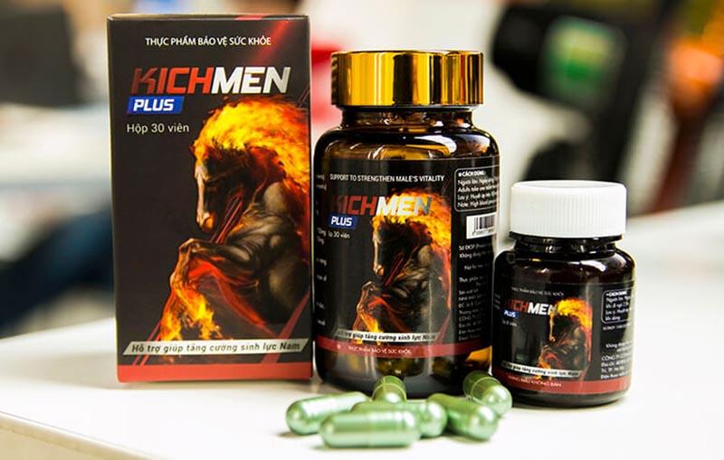 Kichmen Plus - thuốc sinh lý hiệu quả