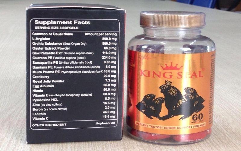 Thuốc hỗ trợ sinh lý nam King Seal